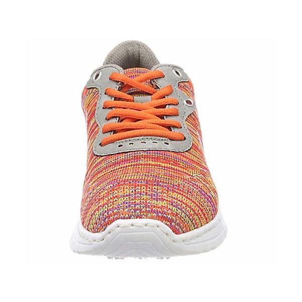 rieker, Sneakers Sneakers Sneakers Low, orange   1f3dfb