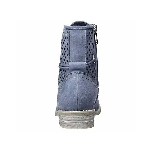 MARCO TOZZI, Schnürstiefeletten, blau   blau  8e7a55