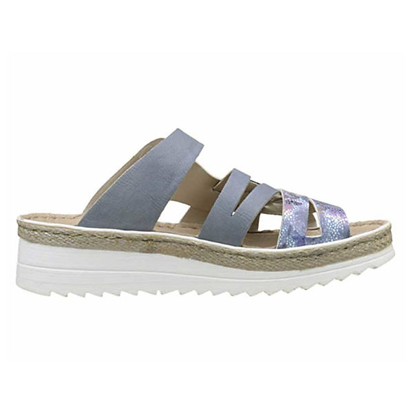 rieker, Qualität Pantoletten, blau  Gute Qualität rieker, beliebte Schuhe cf65b8