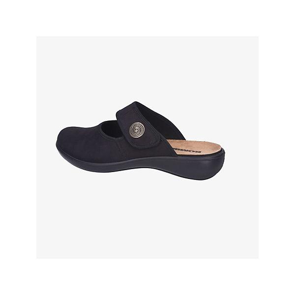 ROMIKA Pantoffeln schwarz  Gute Qualität beliebte Schuhe