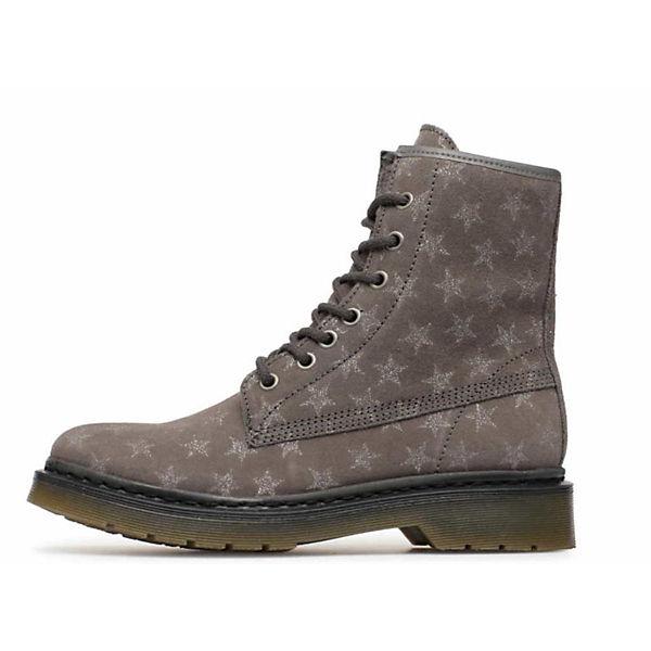 Tamaris, Schnürstiefeletten, grau  Gute Qualität beliebte Schuhe