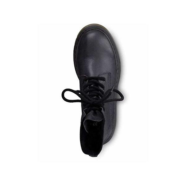 Tamaris, Schnürstiefeletten, blau  beliebte Gute Qualität beliebte  Schuhe 416099