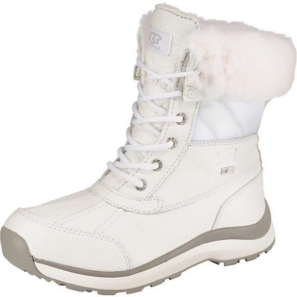 d1cf10580d0 UGG, Adirondack Boot III Quilt Winterstiefeletten, weiß
