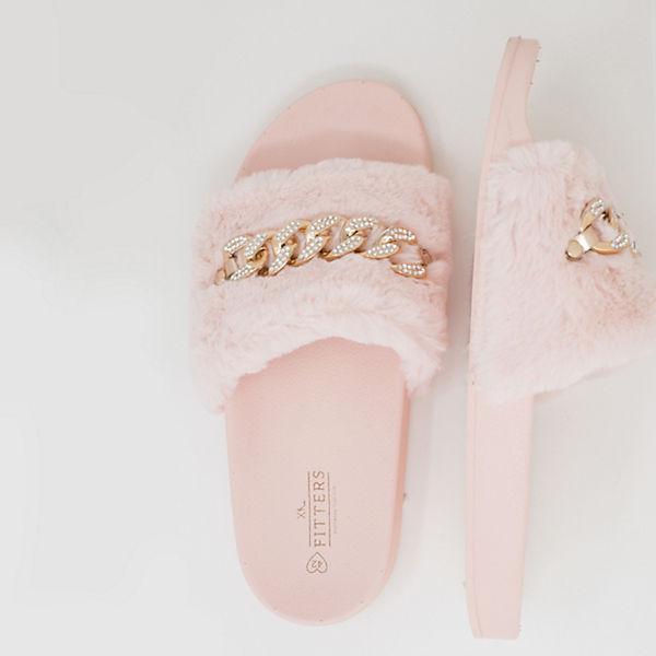 Paula Fitters Fitters Fitters rosa rosa Pantoletten Pantoletten Footwear Footwear Footwear Paula Paula wzx50qrwP