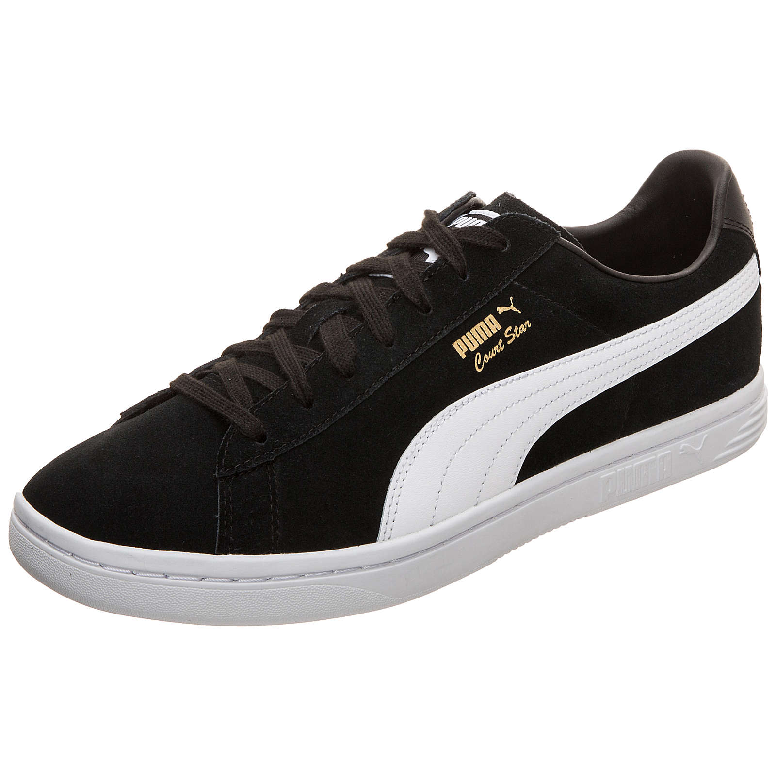 PUMA Court Star FS Sneakers Low schwarz/weiß Herren Gr. 45