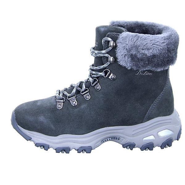 SKECHERS, Schnürstiefeletten, grau Qualität  Gute Qualität grau beliebte Schuhe be7dd3