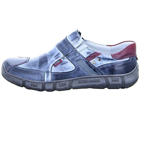 Kacper Klassische Slipper blau  Gute Qualität beliebte Schuhe