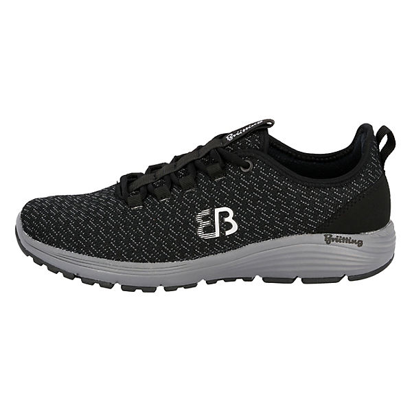 Brütting, HighspeedSneakers Low, Low, HighspeedSneakers schwarz   4c1a31
