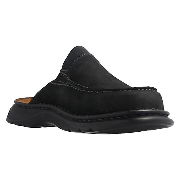 Josef 01 Hausschuhe Wido Seibel Pantoffeln schwarz rgFqr8Hw