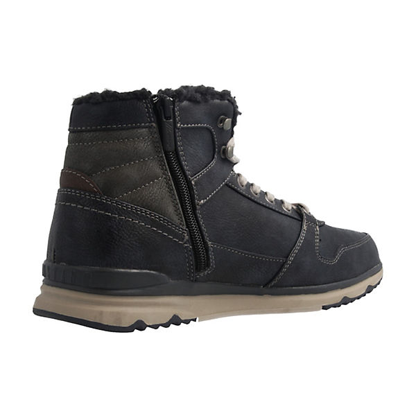 MUSTANG, Boots Stiefeletten, Klassische Stiefeletten, Boots blau   ba4d7e