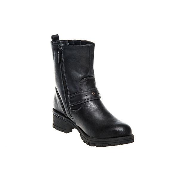 MUSTANG, Boots Gute Klassische Stiefeletten, blau  Gute Boots Qualität beliebte Schuhe 0acab4