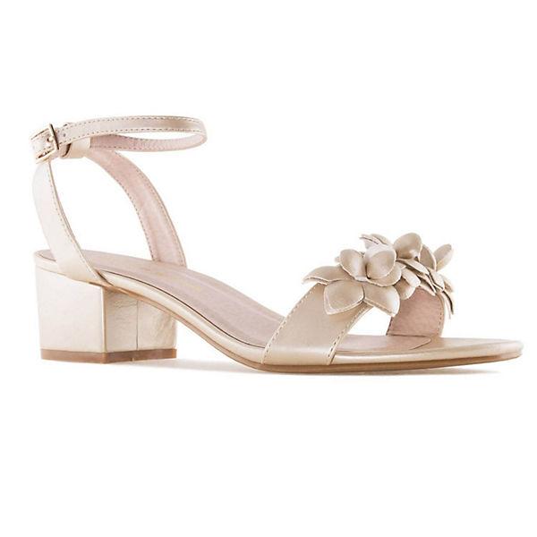 Andres Machado, Sandalette  AM5269 Klassische Sandaletten, gold  Sandalette Gute Qualität beliebte Schuhe cdf5e7