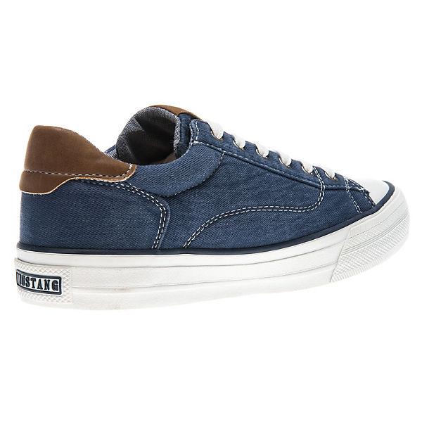 blau Low MUSTANG Low blau MUSTANG Sneakers Sneakers vd64w4q