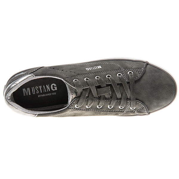 MUSTANG, Sneakers Low, grau grau Low,   adad4c