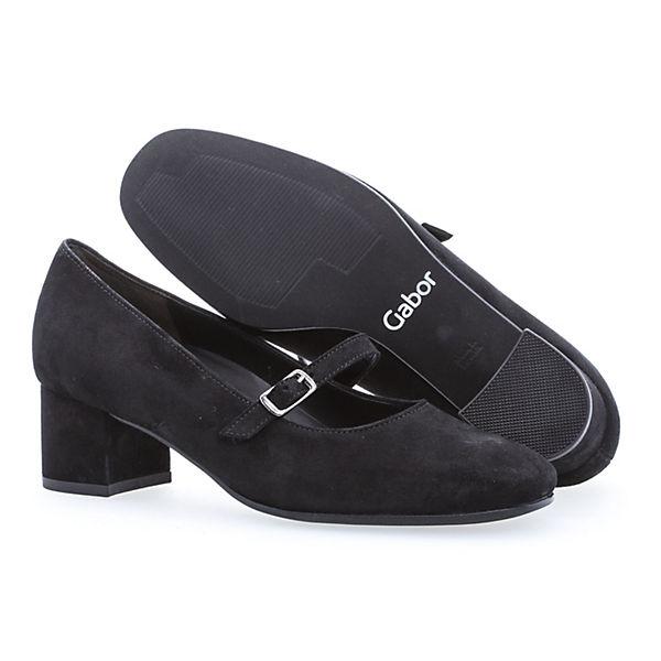 Gabor, Klassische Gute Pumps, schwarz  Gute Klassische Qualität beliebte Schuhe 7c47fc