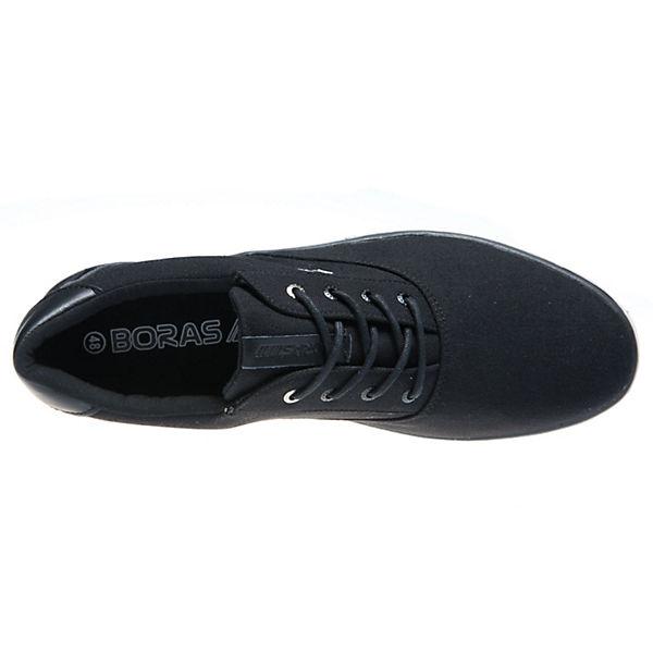 Klassische schwarz BORAS Klassische Halbschuhe Halbschuhe schwarz BORAS BORAS 6Tqf4nxCTw