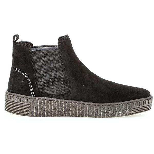 Gabor, Gute Klassische Stiefeletten, schwarz  Gute Gabor, Qualität beliebte Schuhe ae8ab1