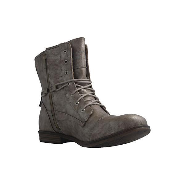Stiefeletten Boots Boots Klassische silber MUSTANG MUSTANG Stiefeletten Klassische R1Y6B