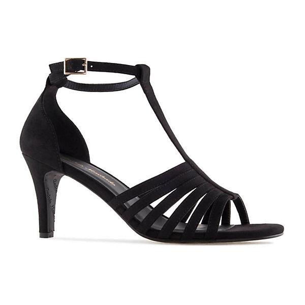 Andres Machado, Sandalette AM5272  Klassische Sandaletten, schwarz  AM5272  2b78a1