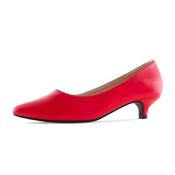 Andres Machado, Klassische Pumps, rot rot rot  Gute Qualität beliebte Schuhe 5d184f