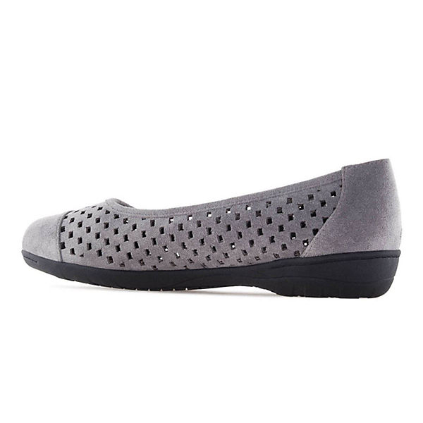 Andres Machado, Ballerinas AM5153 Klassische Ballerinas, grau  Gute Qualität beliebte Schuhe