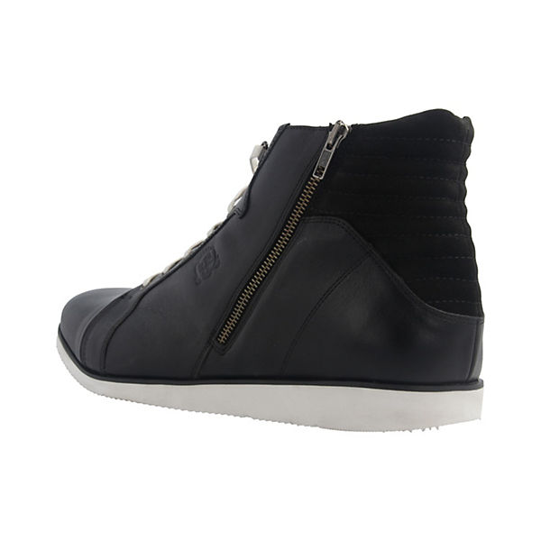MANZ, Boots Klassische Halbschuhe, schwarz