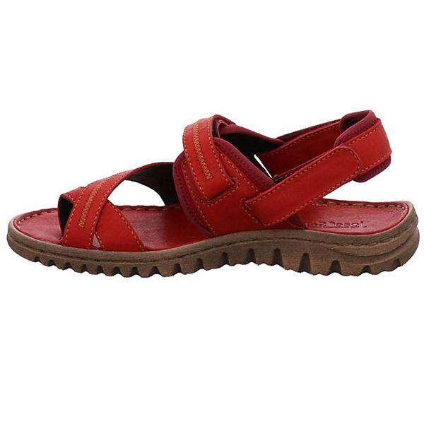 Josef Seibel, Klassische Sandalen, rot  Gute Qualität beliebte Schuhe