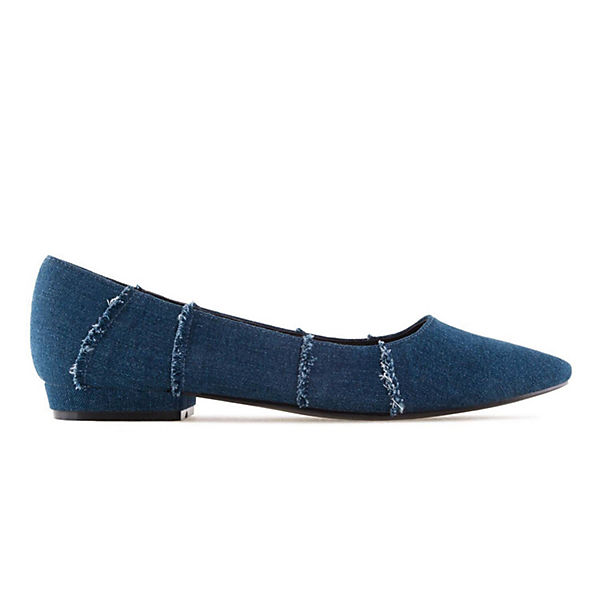 Andres Machado, Ballerinas AM5248  Klassische Ballerinas, blau  AM5248  9f8232