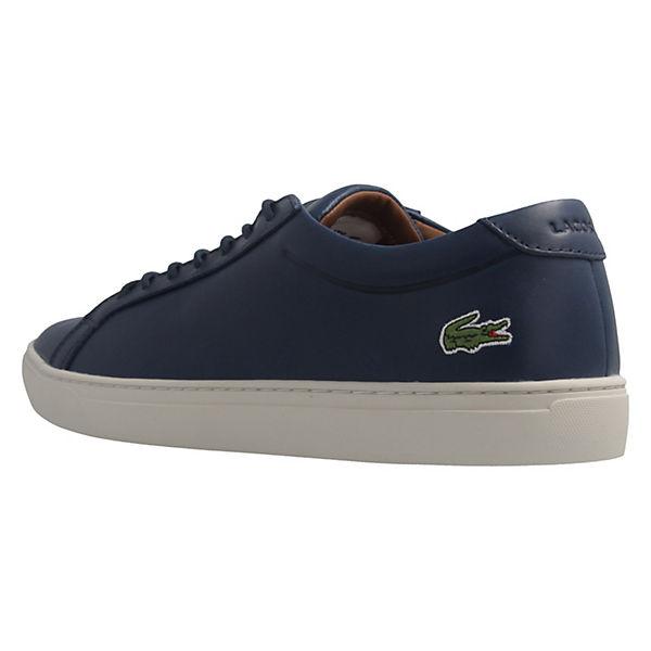 Sneaker 1 Klassische blau 317 L12 Halbschuhe 12 LACOSTE 7SZq6f