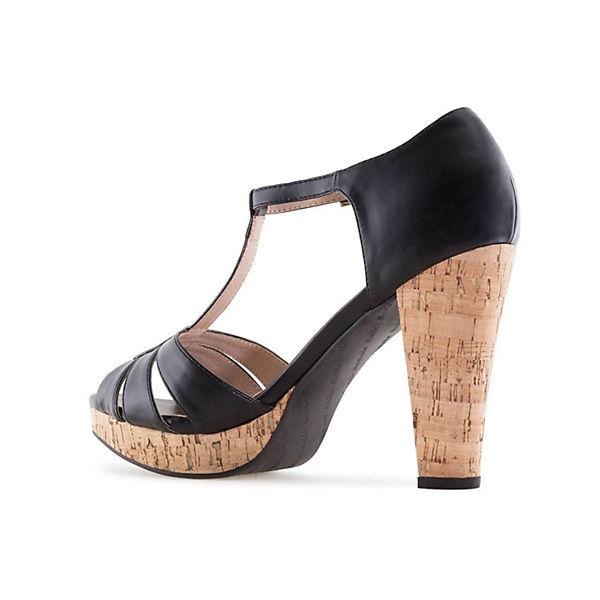 Andres Machado, Sandalette AM5242 AM5242 AM5242 Klassische Sandaletten, schwarz   baa85c
