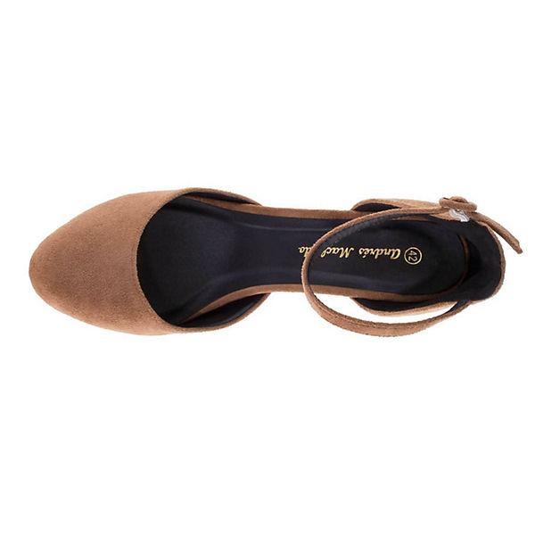Andres Machado Pumps AM5256Klassische Pumps braun Schuhe  Gute Qualität beliebte Schuhe braun 5e4ac2