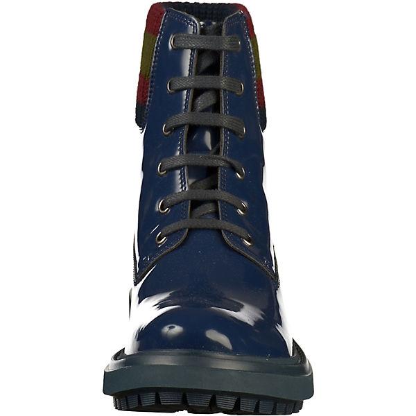 GEOX, Qualität Schnürstiefeletten, blau  Gute Qualität GEOX, beliebte Schuhe 3d35b6