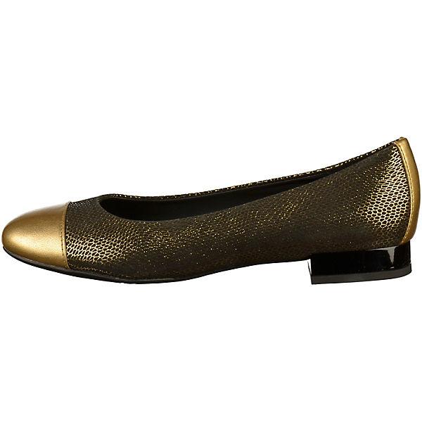 Klassische gold Ballerinas Klassische Ballerinas GEOX GEOX Ballerinas gold Klassische GEOX W4q0S1