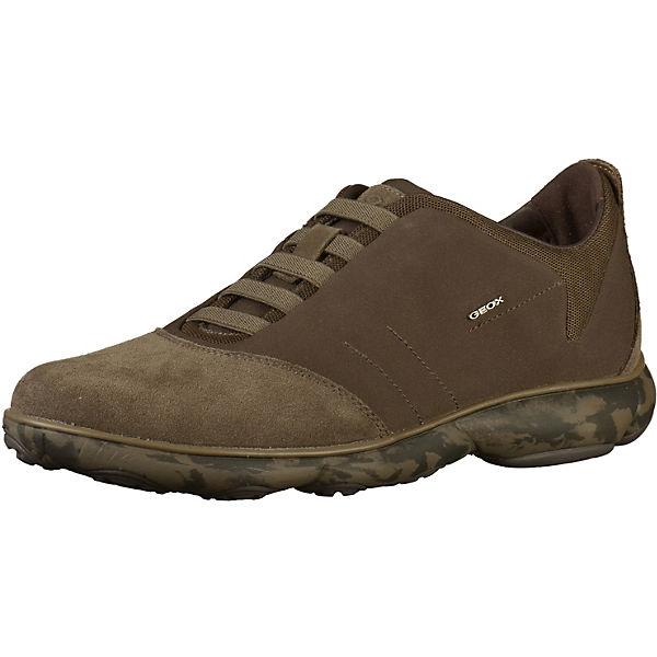 Low braun GEOX Sneakers Sneakers GEOX Low v8Bp7w