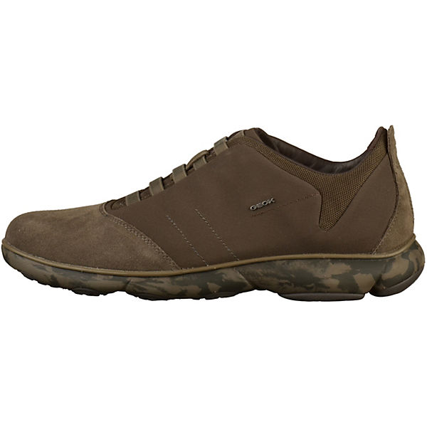 GEOX, Sneakers Low, braun  Gute Qualität beliebte Schuhe Schuhe Schuhe f3c15e