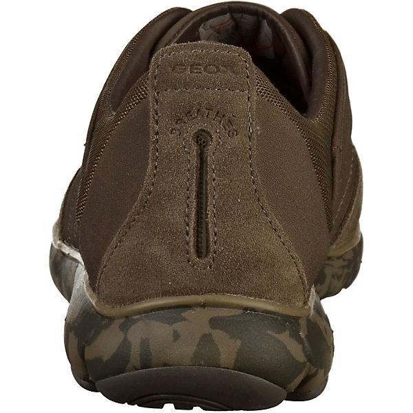 GEOX, Sneakers Low, braun  Gute Qualität beliebte Schuhe Schuhe Schuhe 512d44