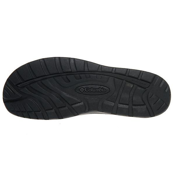 Columbia Sandale 010 4454 Pantoletten BM schwarz 8SqrFP8n