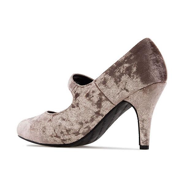 Andres Machado, Pumps Qualität AM5203 Klassische Pumps, beige  Gute Qualität Pumps beliebte Schuhe 8fdfec