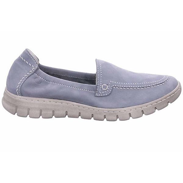 Josef Seibel, Halbschuhe, Halbschuhe Steffi 57 Klassische Halbschuhe, Seibel, blau  Gute Qualität beliebte Schuhe d2346d