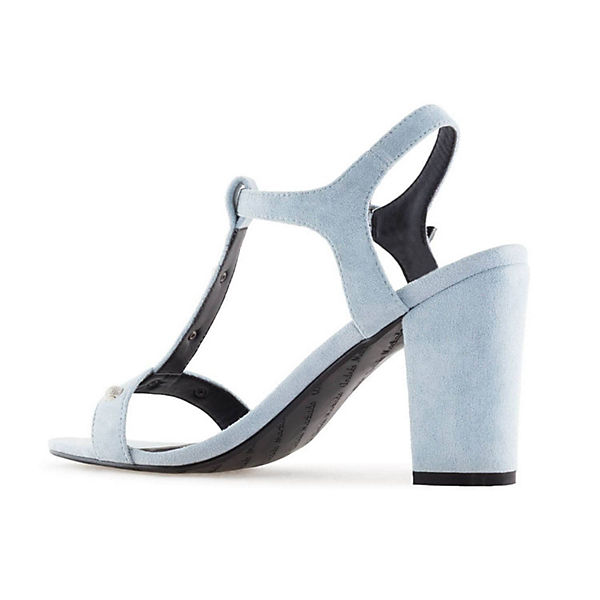 Andres Machado, Sandalette AM5271 Klassische  Sandaletten, blau   Klassische cecbe9