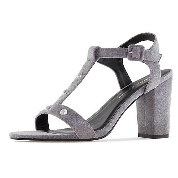 Andres Machado, Sandalette Qualität AM5271 Klassische Sandaletten, grau  Gute Qualität Sandalette beliebte Schuhe 96f0b6