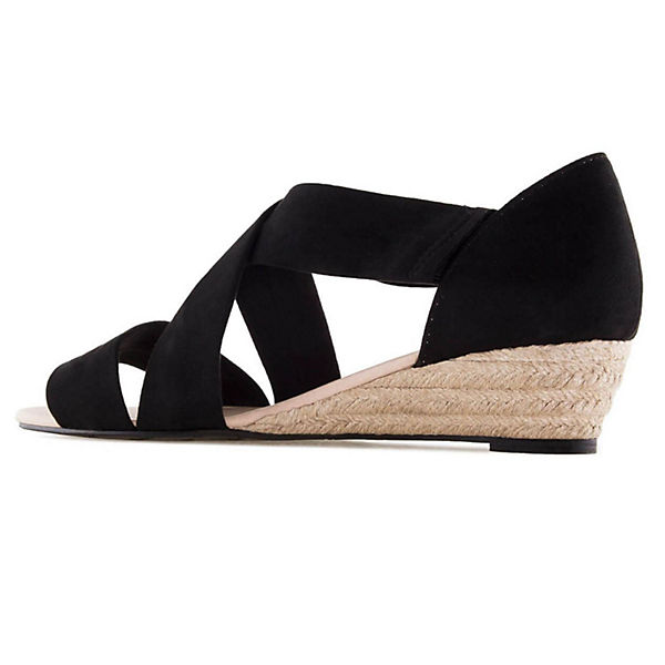 Andres Machado, Sandalette  AM5267 Klassische Sandaletten, schwarz  Sandalette  0a8807