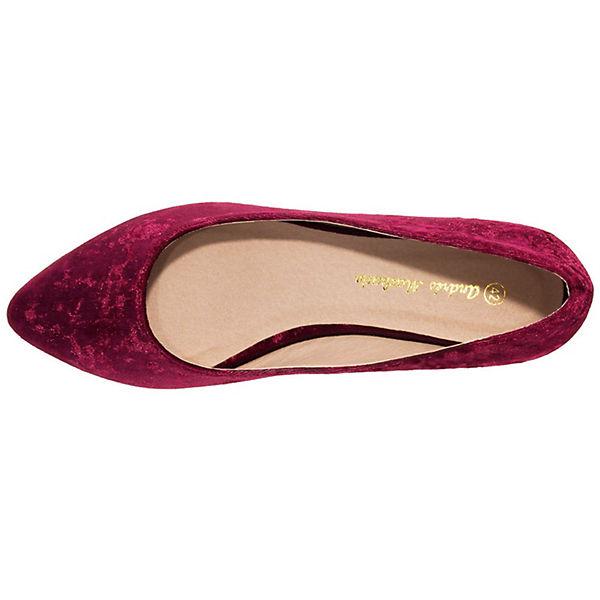 Andres Machado, rot Ballerina AM5228 Klassische Ballerinas, rot Machado,  Gute Qualität beliebte Schuhe 5c664b