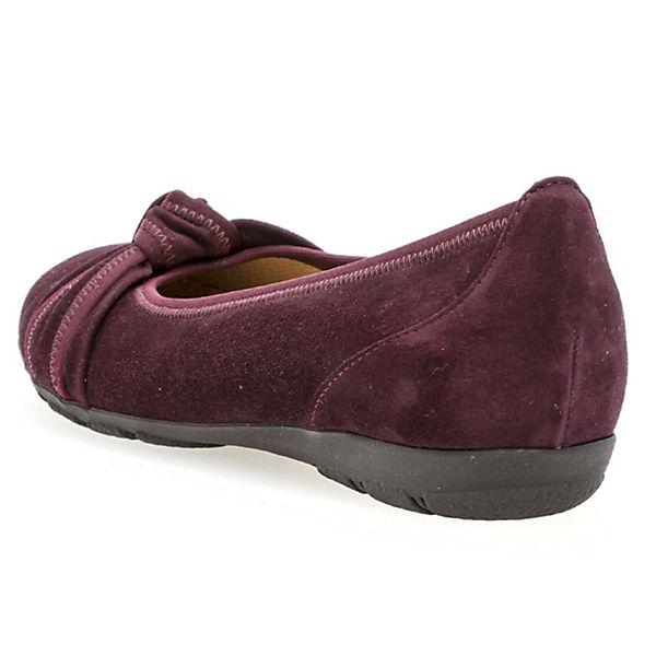 Gabor, Klassische Ballerinas, rot  Gute Qualität beliebte Schuhe
