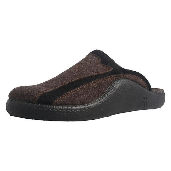 ROMIKA, Hausschuhe Pantoffeln, Mokasso 246 Pantoffeln, Hausschuhe braun   d6bcc3