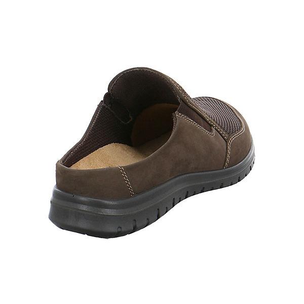 JOMOS JOMOS Clogs Clogs braun Pantoffeln BzOnqSwY5