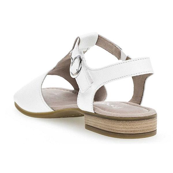 Gabor Klassische Sandaletten weiß Gabor Gabor Sandaletten Klassische Klassische Gabor weiß weiß Sandaletten Klassische aOx0d6