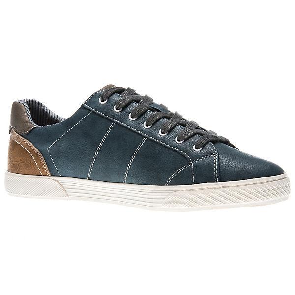 MUSTANG, MUSTANG, MUSTANG, Sneakers Low, blau  Gute Qualität beliebte Schuhe c1004b