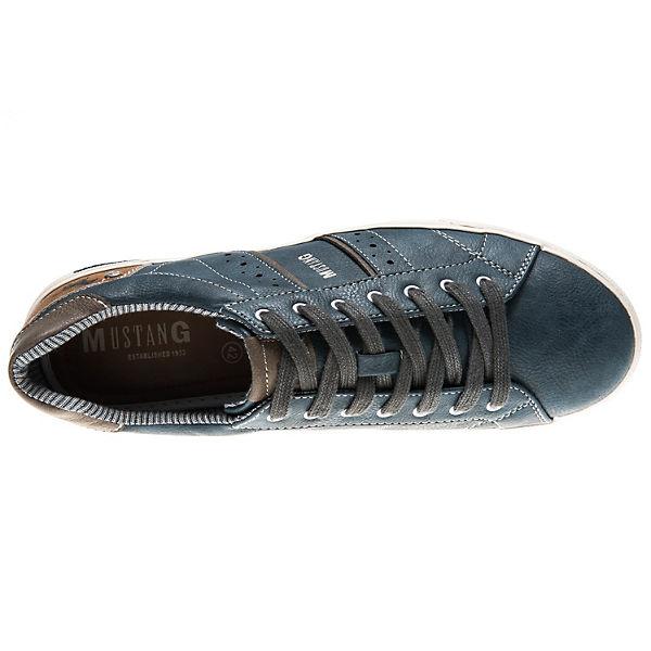 MUSTANG, Sneakers Low, blau   blau  f0d9ff