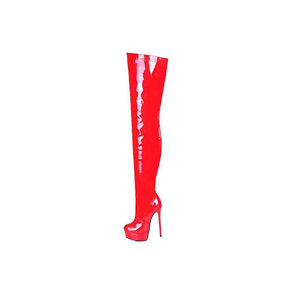 rot Stiefel Overknee Galana Giaro Klassische Stiefel 1004 xqPBxY7w